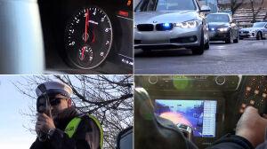 Policyjna specgrupa SPEED walczy z nielegalnymi wyścigami