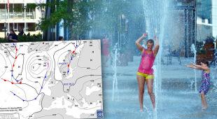 W Szczecinie od rana jest gorąco
