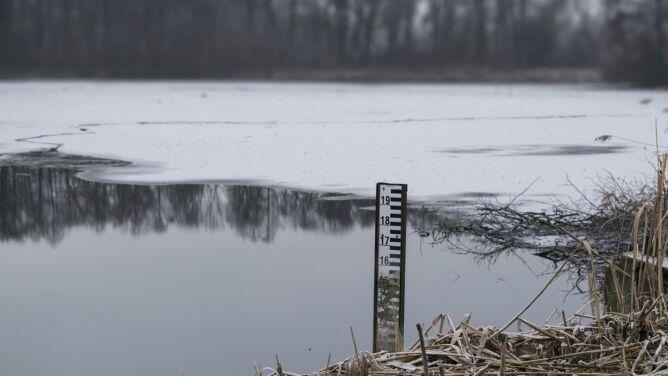 Woda po roztopach zalała drogi i posesje. Strażacy interweniowali na Śląsku