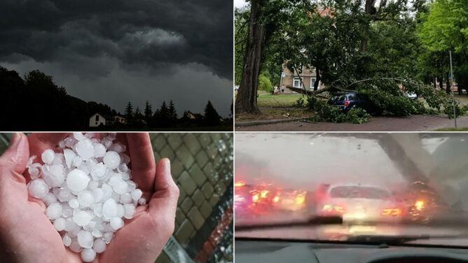 Pożar, zalania, ewakuacje. Bilans interwencji <br />po niedzielnych burzach