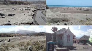 Zaledwie 52 godziny przerwy między erupcjami. La Soufriere wciąż jest niebezpieczny