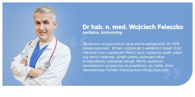 Dr hab. n. med. Wojciech Feleszko