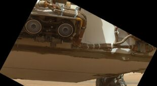 Autoportrety łazika Curiosity (NASA/JPL-Caltech/Malin Space Science Systems)