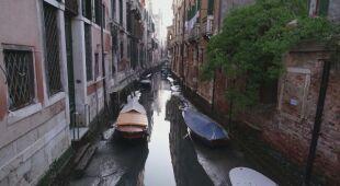 Wyschły kanały w Wenecji